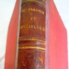 Libros antiguos: L- 287. COURS D'HISTOLOGIE. M. FARABEUF. PARIS 1876-1877. EN FRANCES.. Lote 43146946