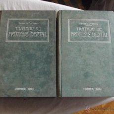 Libros antiguos: TRATADO DE PROTESIS DENTAL POR CHARLES R. TURNER Y L. PIERCE ANTHONY. Lote 43203181