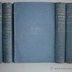 Libros antiguos: DICCIONARIO HIGIENE PUBLICA Y SALUBRIDAD.AMBROSIO TARDIEU.5 TOMOS OBRA COMPLETA C.1886.MEDICINA. Lote 43506828