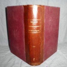 Libros antiguos: SOCIEDAD BARCELONESA DE OTO-RINO-LARINGOLOGIA - AÑO 1911 - MUY RARO·ILUSTRADO.. Lote 43773071