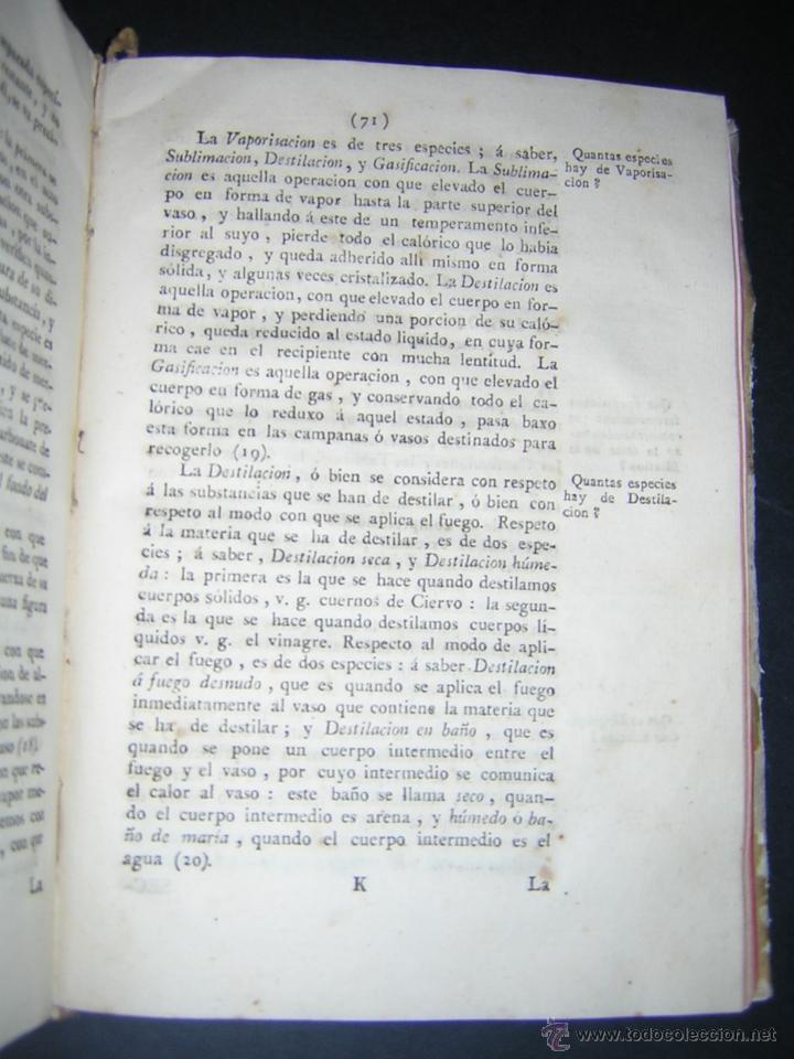 Libros antiguos: 1805 - FRANCISCO CARBONELL - ELEMENTOS DE FARMACIA FUNDADOS EN LA QUIMICA MODERNA - Foto 6 - 43908285