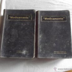 Libros antiguos: MEDICAMENTA TRADUCIDA POR ENRIQUE SOLER Y BATLLE. Lote 43940702