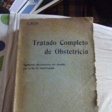 Libros antiguos: TRATADO COMPLETO DE OBSTETRICIA POR E. BUMM. Lote 43942282