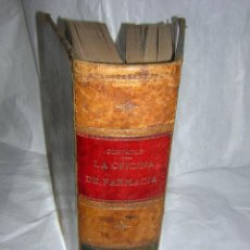 Libros antiguos: LA OFICINA DE FARMACIA ESPAÑOLA, SEGUN DORVAULT, 1886 A 1890, 6 A 10 SUPLEMENTOS. Lote 104769936