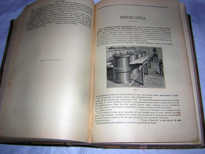 Libros antiguos: LA OFICINA DE FARMACIA ESPAÑOLA, SEGUN DORVAULT, 1891/1895 -11 AL 15 SUPLEMENTOS - Foto 3 - 43978596