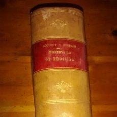 Libros antiguos: DICCIONARIO DE MEDICINA Y DE TERAPÉUTICA MÉDICA Y QUIRÚRGICA / BOUCHUT Y DESPRÉS. Lote 43961268