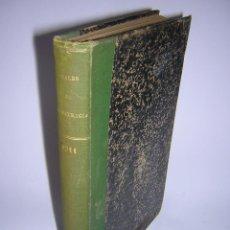 Libros antiguos: 1911 - ANALES DE LA ACADEMIA DE OBSTETRICIA, GINECOLOGÍA Y PEDIATRÍA. Lote 44042743