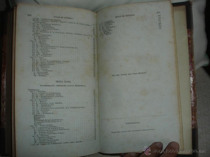 Libros antiguos: Tratado clínico y práctico de las enfermedades de los niños 1886 - Foto 6 - 44072302