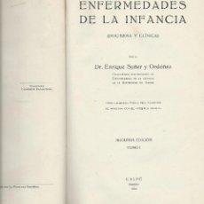 Libros antiguos: LIBRO. ENFERMEDADES DE LA INFANCIA. TOMO I.. Lote 44114668