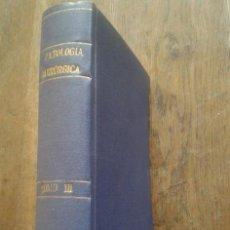 Libros antiguos: TRATADO DE PATOLOGÍA QUIRÚRGICA. TOMO III, CUELLO, TÓRAX, GLÁNDULAS MAMARIAS - BOURGEOIS / LECÈNE /. Lote 44232423
