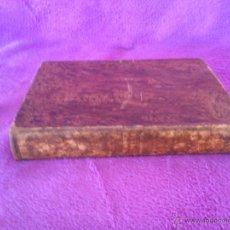 Libros antiguos: TRATADO DE MATERIA FARMACEUTICA, D. MANUEL JIMENEZ 1848. Lote 44842919