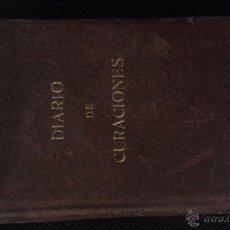 Libros antiguos: CURIOSO DIARIO DE CURACIONES 1940 MANUSCRITO 18 X 13 X 3,50 CM. MEDICINA, MÉDICO. Lote 45211957