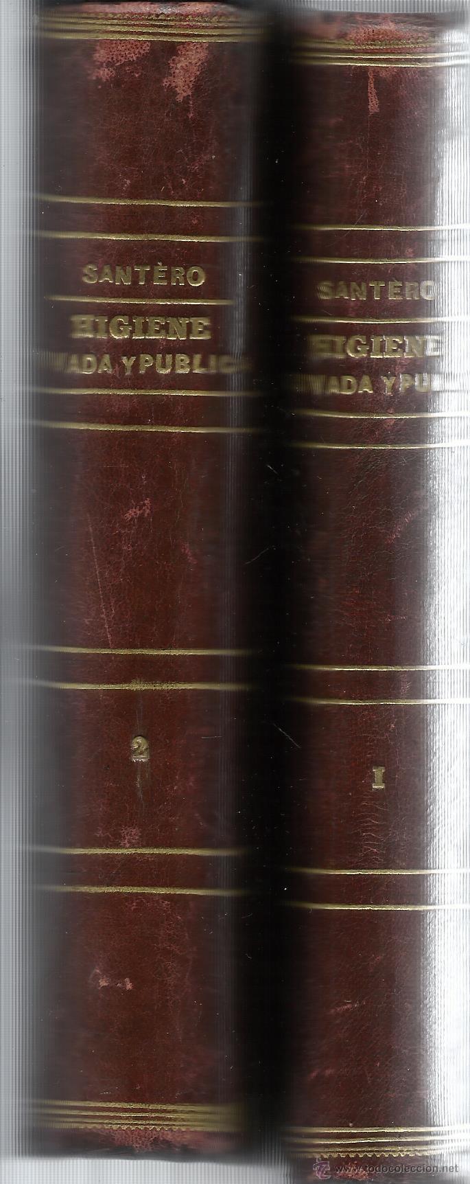 Libros antiguos: HIGIENE PRIVADA Y PÚBLICA. FRANCISCO JAVIER SANTERO. 2 TOMOS. EL COSMO EDITORIAL. MADRID. 1885 - Foto 2 - 45931918