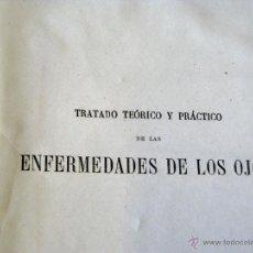 Libros antiguos: TRATADO PRACTICO ENFERMEDADES DE LOS OJOS 1871. Lote 45967113