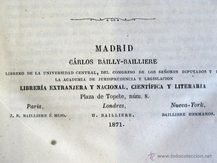 Libros antiguos: TRATADO PRACTICO ENFERMEDADES DE LOS OJOS 1871 - Foto 4 - 45967113