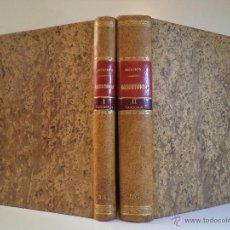 Libros antiguos: TRATADO DE OBSTETRICIA. 2 VOL. COMPLETO. RECASENS GIROL, SEBASTIÁN 2ª ED. AUMENTADA,. Lote 45993408