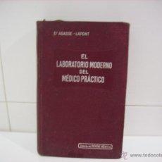 Libros antiguos: EL LABORATORIO MODERNO DEL MEDICO PRACTICO. Lote 46378886