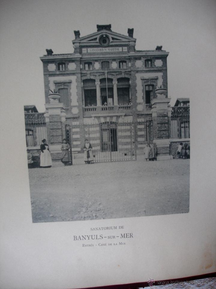 Libros antiguos: Oeubre des hopitaux Marins pour le traitement des enfants Rachitiques et scrofuleux - Foto 4 - 46782109