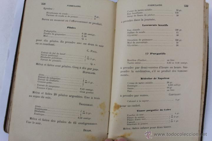 Libros antiguos: L- 1221. THÉRAPEUTIQUE DES MALADIES DU FOIE. PAR LE DR. L. GALLIARD. OCTAVE DOIN, ÉDITEUR. AÑO 1894. - Foto 8 - 46918214