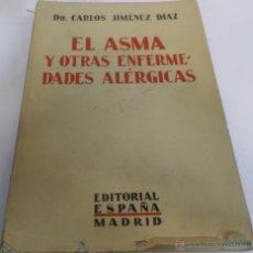 Libros antiguos: EL ASMA Y OTRAS ENFERMEDADES ALERGICAS. Lote 47013898