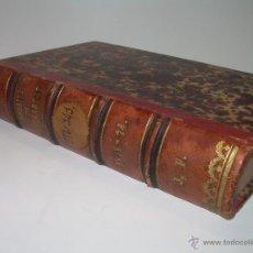 Libros antiguos: LIBRO DE MEDICINA...... ANUARIO DE THERAPEUTIQUE....AÑO...1.873. Lote 47032072