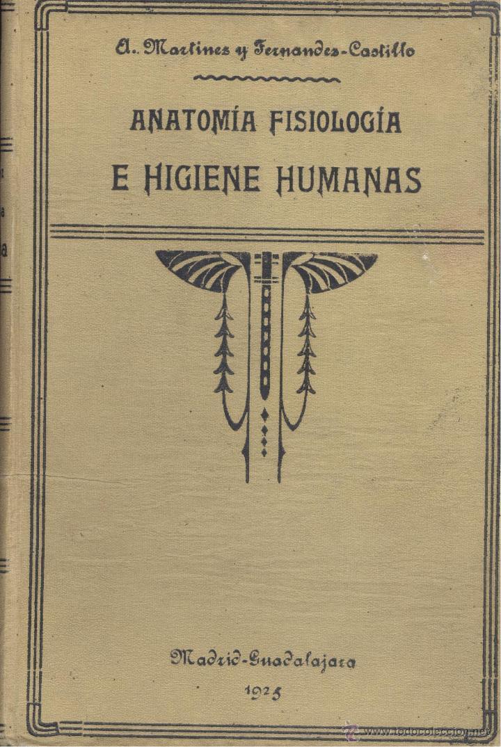 a. martínez y fernández-castillo. anatomía, fis - Comprar Libros ...
