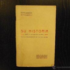 Libros antiguos: NUEVO HOSPITAL DE BASURTO, BILBAO, 1908. Lote 47657208