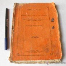 Libros antiguos: MEDICINA. NOCIONES DE TERAPEUTICA MATERIA MEDICA Y ARTE DE FORMULAR. MANUEL MARIA CORROCHANO 1869. Lote 47929411