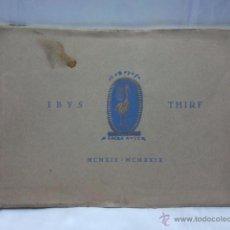 Livros antigos: CATALOGO INSTITUTO DE BIOLOGÍA Y SUEROTERAPIA LABORATORIO IBYS THIRF 1919-1929. Lote 48005784