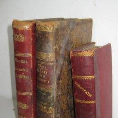 Libros antiguos: IMPOSIBLE LIBRO ANTIGUO 1851 MEDICINA HOMEOPATICA EXAMEN DE LA HOMEOPATIA POR DOCTOR MATA MADRID. Lote 48189457