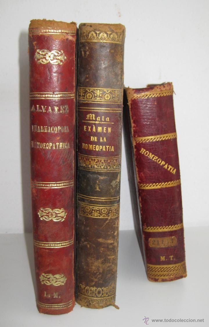 Libros antiguos: IMPOSIBLE LIBRO ANTIGUO 1851 MEDICINA HOMEOPATICA EXAMEN DE LA HOMEOPATIA POR DOCTOR MATA MADRID - Foto 2 - 48189457