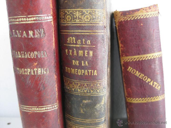 Libros antiguos: IMPOSIBLE LIBRO ANTIGUO 1851 MEDICINA HOMEOPATICA EXAMEN DE LA HOMEOPATIA POR DOCTOR MATA MADRID - Foto 3 - 48189457