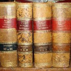 Libros antiguos: LA OFICINA DE FARMACIA ESPAÑOLA. DORVAULT. 1880. 8 VOLÚMENES. COMPLETA.. Lote 48513923