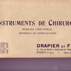 Libros antiguos: INSTRUMENTS DE CHIRURGIE. Lote 49085172