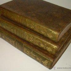 Libros antiguos: TRES TOMOS DE PIEL....OBRA COMPLETA......TRATADO DE TERAPEUTICA Y MATERIA MEDICA......AÑO..1.841. Lote 49291897