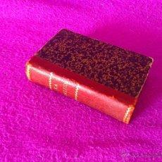 Libros antiguos: LA SALUD, MANUAL DE HOMEOPATIA, CESAREO MARTIN SOMOLINOS, JAIME PIZA ROSELLO, 1887. Lote 49317293