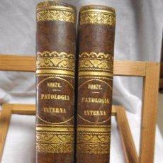Libros antiguos: TRATADO DE PATOLOGIA INTERNA , DR. C.F. KUNZE , 1877, 2 TOMOS. Lote 49416439
