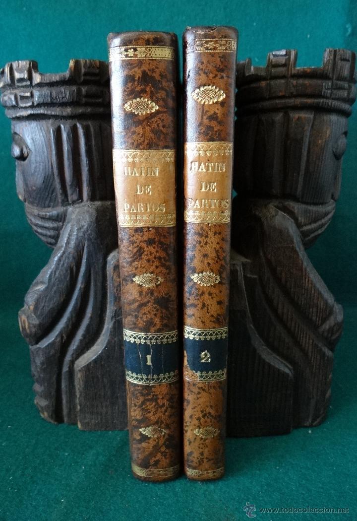 CURSO COMPLETO DE PARTOS POR JULIO HATIN . MADRID 1.835 (1ª EDICION) TOMO 1ºY2º. LITOGRAFIAS (Libros Antiguos, Raros y Curiosos - Ciencias, Manuales y Oficios - Medicina, Farmacia y Salud)