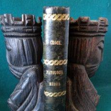 Libros antiguos: PROGRAMA SUMARIO DE PATOLOGIA MEDICA. DR. D. JOSE CROUS Y CASELLAS. VALENCIA 1876. Lote 49508769