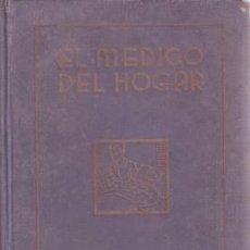 Libros antiguos: SPRINGER, JENNY: EL MEDICO DEL HOGAR. CÓMO SE PREVIENEN Y CURAN LAS ENFERMEDADES . Lote 49741723
