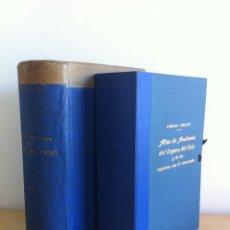 Libros antiguos: ATLAS DE ANATOMÍA DEL ÓRGANO DEL OÍDO. DEDICADO POR EL AUTOR PEDRO BELOU A CARLOS MARÍA CORTEZO.. Lote 49779846