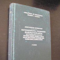 Libros antiguos: BIBLIOTECA DE TERAPÉUTICA GILBERT CARNOT ,SALVAT TOMO XII BACTERIOTERAPIA, VACUNACION, SUEROTERAPIA. Lote 49906425