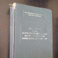 Libros antiguos: BIBLIOTECA DE TERAPÉUTICA GILBERT CARNOT ,SALVAT TOMO XVIII ENFERMEDADES INFECCIOSAS. Lote 49906677