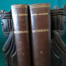 Libros antiguos: MANUAL DE BACTERIOLOGÍA. DOPTER Y SACQUEPEE. SALVAT. BARCELONA. 1932 MEDICINA.. Lote 49979859
