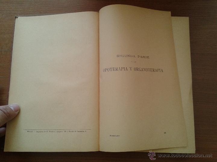 Libros antiguos: FORMULARIO DE MEDICAMENTOS MODERNOS TOMO SEGUNDO 1900 UNAS 500 PAGINAS - Foto 3 - 50106828