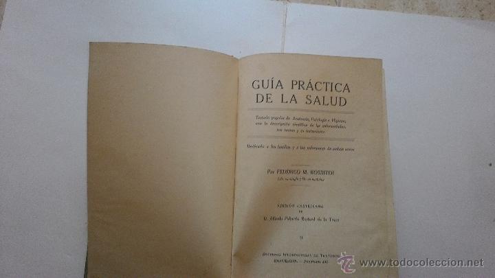 Libros antiguos: LIBRO GUIA PRACTICA DE LA SALUD - Foto 2 - 61079062