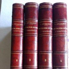 Libros antiguos: TRATADO DE PATOLOGÍA INTERNA Y TERAPÉUTICA. HERMANN EICHHORST. Lote 50320038