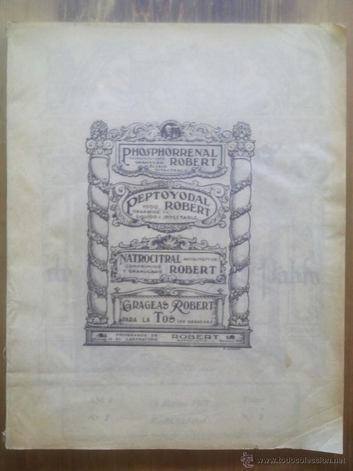 ANALES DEL HOSPITAL DE LA SANTA CRUZ Y SAN PABLO DE BARCELONA / Nº 5 / 15 DE SEPTIEMBRE 1927 (Libros Antiguos, Raros y Curiosos - Ciencias, Manuales y Oficios - Medicina, Farmacia y Salud)