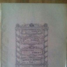 Libros antiguos: ANALS DE L'HOSPITAL DE LA STA. CREU I S. PAU DE / Nº 1 / BARCELONA 15 GENER 1932. Lote 50451427