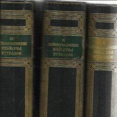 Libros antiguos: NOUVELLE PRATIQUE DERMATILOGIQUE. DARIER, SABOURAD. MASSON ET CIE. ÉDITEURS. PARIS. 1936. 3 TOMOS.. Lote 50491986